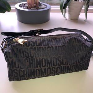 Moschino bag- with logo print all over